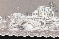 Vánoční záclony metráž